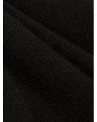 Label Under Construction Black Loop Scarf