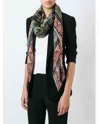Etro - Multicolor Mixed Print Scarf - Lyst