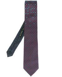 Etro | Blue Paisley Print Tie for Men | Lyst