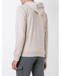 Eleventy - Multicolor Zip-up Hoodie for Men - Lyst