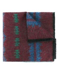 Valentino | Multicolor Garavani Jacquard Wool-cashmere Scarf for Men | Lyst