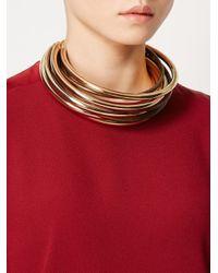 Rosantica - Metallic 'yucatan' Necklace - Lyst