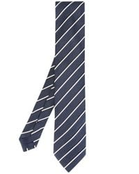 Ermenegildo Zegna | Blue Striped Tie for Men | Lyst