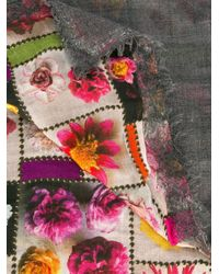 Faliero Sarti | Blue Floral Print Scarf | Lyst