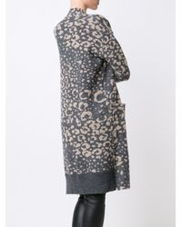 By Malene Birger - Gray - 'olizza' Cardigan - Women - Acrylic/wool/alpaca/polyimide - Xl - Lyst