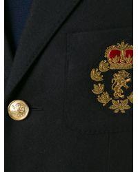 Saint Laurent | Black Military Parka for Men | Lyst