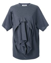 Enfold Gray Deconstructed T-shirt