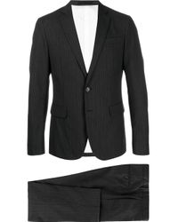 メンズ DSquared² ストライプ スーツ Gray