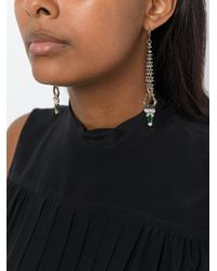 Iosselliani - Metallic 'anubian Jewels' Long Earrings - Lyst