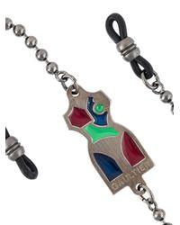 Jean Paul Gaultier - Metallic Mannequin Logo Glasses Chain - Lyst