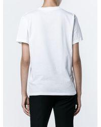 Ganni White Lemon Print T-shirt
