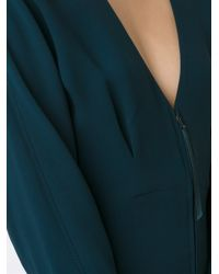 Maiyet Green Fitted Zip Dress