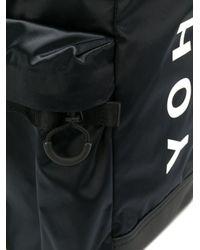 Y-3 Rucksack mit Logo-Print in Black für Herren