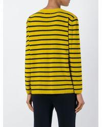 Chinti & Parker - Black Breton Stripe Sweater - Lyst