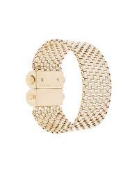 Givenchy - Metallic Box Chain Bracelet - Lyst