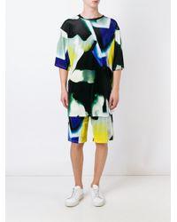 Andrea Crews - Multicolor 'spray' Shorts for Men - Lyst