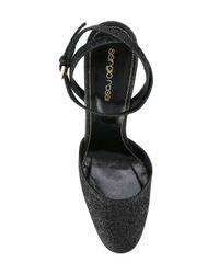 Sergio Rossi - Natural Glitter High Heel Sandals - Lyst