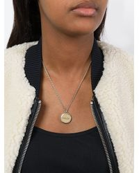 Carven | Metallic 'thin Chain' Necklace | Lyst