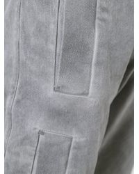 Lost and Found Rooms | Gray Bound Pockets Slim Pants for Men | Lyst