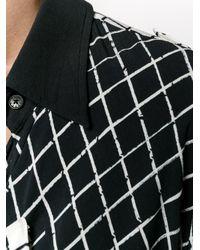 Preen Line | Blue Grid Print Shirt Dress | Lyst