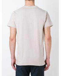 A.P.C. | Blue Plain T-shirt for Men | Lyst