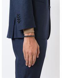 Tateossian - Blue Scoubidou Bracelet for Men - Lyst