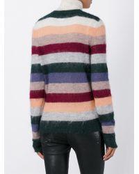 Étoile Isabel Marant Striped Mohair Sweater Multicolor