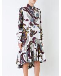 Antonio Marras Multicolor Printed Shirt Dress