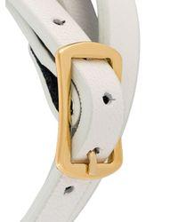 McQ - White 'swallow' Triple Wrap Bracelet - Lyst