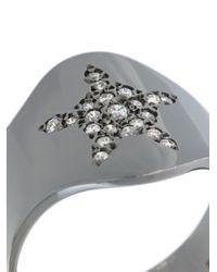 Carolina Bucci Metallic 'superstellar' Shield Ring