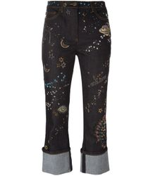 Valentino | Blue Astro Couture Jeans | Lyst
