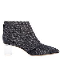 Jerome C. Rousseau | Black 'schofield' Tweed Ankle Boots | Lyst