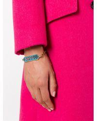 Shourouk - Blue 'moodz Happy' Bracelet - Lyst