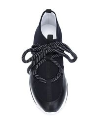 Pierre Hardy Black 'urban Track' Sneakers