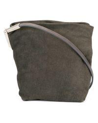 Rick Owens - Gray Small Crossbody Bag - Lyst