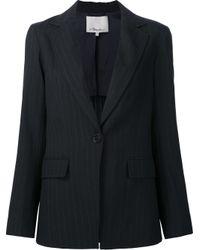 3.1 Phillip Lim | Blue Pinstripe Blazer | Lyst