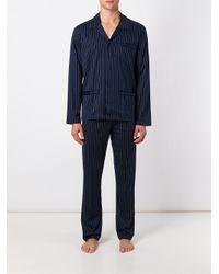 La Perla - Blue 'next Stripes' Pyjama for Men - Lyst
