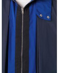 La Perla Blue 'leisure Escape' Hooded Jacket for men
