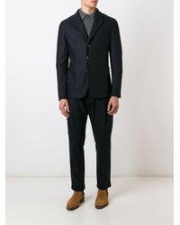 Barena Blue 'torceo' Blazer for men