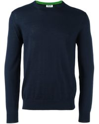 KENZO - Blue Navy Tiger Logo Pullover for Men - Lyst