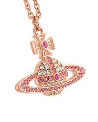 Vivienne Westwood | Pink 'kika' Pendant Necklace | Lyst