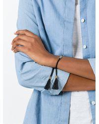 Chloé Black 'messages Rock' Bracelet