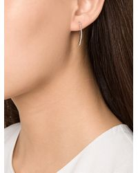 EF Collection | Gray Curved Cuff Left Earring | Lyst