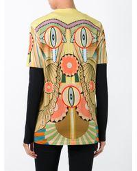 Givenchy Multicolor Crazy Cleopatra Print Cotton T-shirt