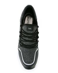 MICHAEL Michael Kors Black Lace Up Sneakers