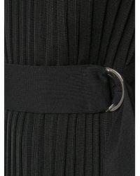 Egrey Black Knitted Midi Dress
