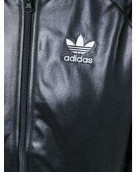 Adidas Originals - Black 'superstar' Track Jacket - Lyst