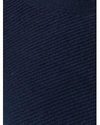Woolrich - Blue Boat Neck Jumper - Lyst