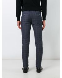 Re-hash Blue Slim Fit Trousers for men