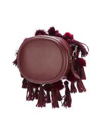 N°21 - Red No21 Tassel Detail Crossbody Bag - Lyst